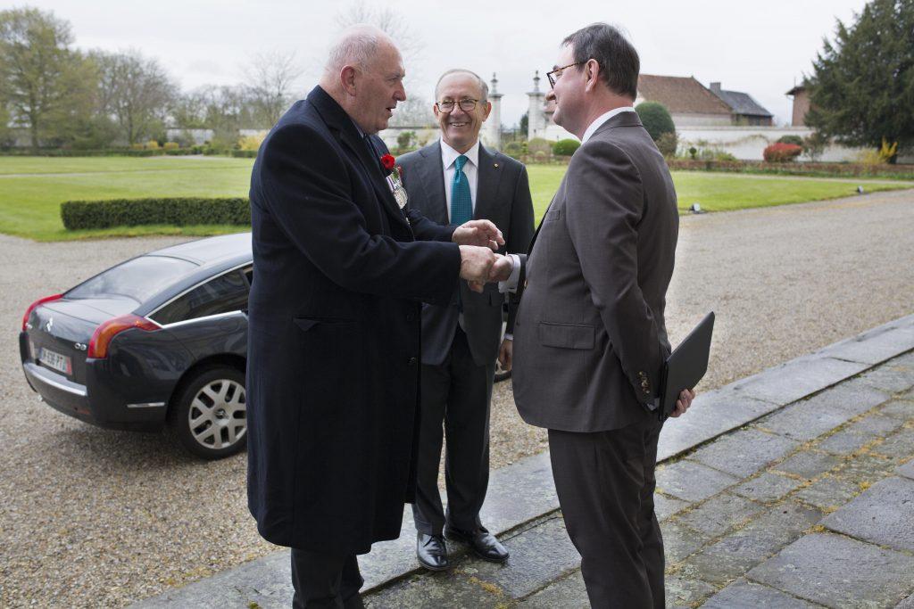 Visite du Gouverneur Général d'Austalie Peter Cosgrove